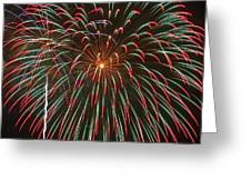 4th Of July Fireworks 16 Greeting Card