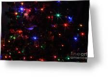 Multi Lights Decorations Greeting Card