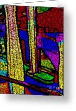 Multi Sensation Colors Greeting Card