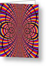 Multicolored Abstract Greeting Card