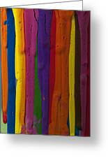 Multicolored Paint Can  Greeting Card