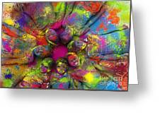 Multicoloured Boys Greeting Card by Tim Gainey