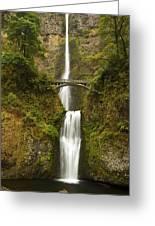 Multnomah Falls 2 A Greeting Card
