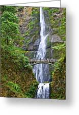 Multnomah Falls 4 Greeting Card