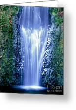 Multnomah Falls Columbia River Gorge Oregon Greeting Card