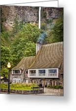 Multnomah Falls Lodge Greeting Card