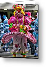 Mummers Underpants Greeting Card
