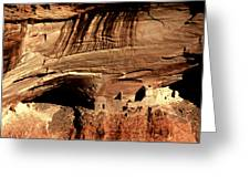 Mummy Cave Ruin Greeting Card