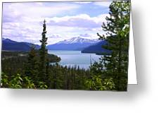 Muncho Lake View Greeting Card