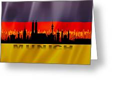 Munich City Greeting Card