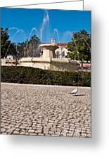 Municipal Square Fountain Greeting Card