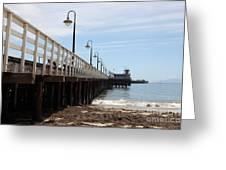 Municipal Wharf At The Santa Cruz Beach Boardwalk California 5d23768 Greeting Card