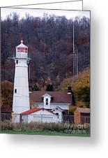 Munising Front Range Lighthouse Greeting Card
