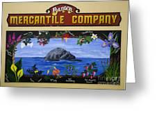Mural Bandon Mercantile Company Greeting Card