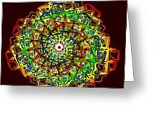 Murano Glass - Red Greeting Card