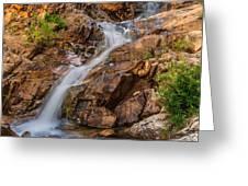 Murdock Basin Falls 2 Greeting Card