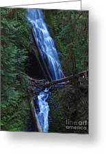 Murhut Falls Greeting Card by Heike Ward