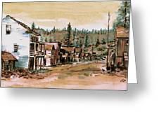 Murphys Camp California Greeting Card