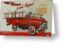 Murray Fire Truck Greeting Card