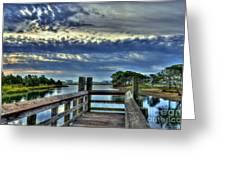Murrells Inlet Morning 2 Greeting Card