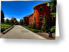 Murrow Hall - Washington State University Greeting Card
