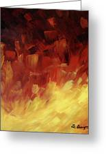Muse In The Fire 3 Greeting Card