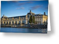 Musee D'orsay Evening Greeting Card