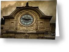 Musee Orsay Greeting Card