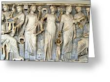 Muses And Poets Greeting Card
