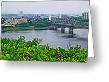 Museum Of Civilization Across The Ottawa River In Gatineau-qc Greeting Card