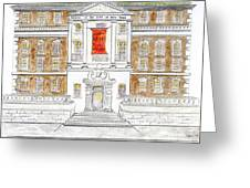 Museum Of The City Of New York Greeting Card