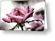 Museum Park Pink Rose Greeting Card