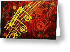 Music 2 Greeting Card