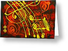 Music 3 Greeting Card