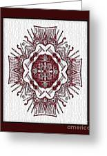 Music And Lace Greeting Card