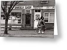 Music - Bag Piper - Somerville Nj -  The Scottsman Greeting Card