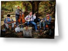 Music Band - The Bands Back Together Again  Greeting Card