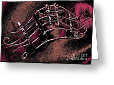 Music Capitol A 4 Greeting Card