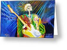 Music From Heaven Greeting Card