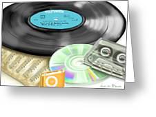 Music History Greeting Card