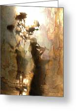 Music Of Light And Shadow Greeting Card