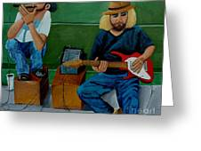 Music Of The Street Greeting Card