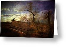 Music Of The Wind Greeting Card