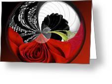 Music Orbit Greeting Card