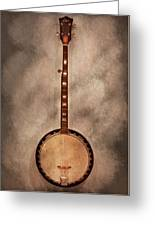 Music - String - Banjo  Greeting Card by Mike Savad