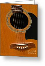 Musical Abstraction Greeting Card