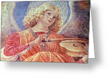Musical Angel With Violin Greeting Card