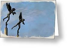 Musical Angels Greeting Card