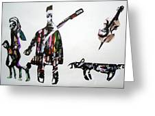 Musical Family Greeting Card
