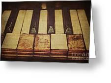 Musical Fingerprints Greeting Card